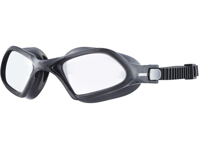 arena Smartfit Svømmebriller, clear-black-black